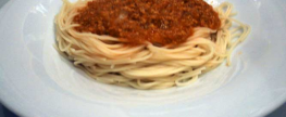 vegetarische spaghetti bolognese