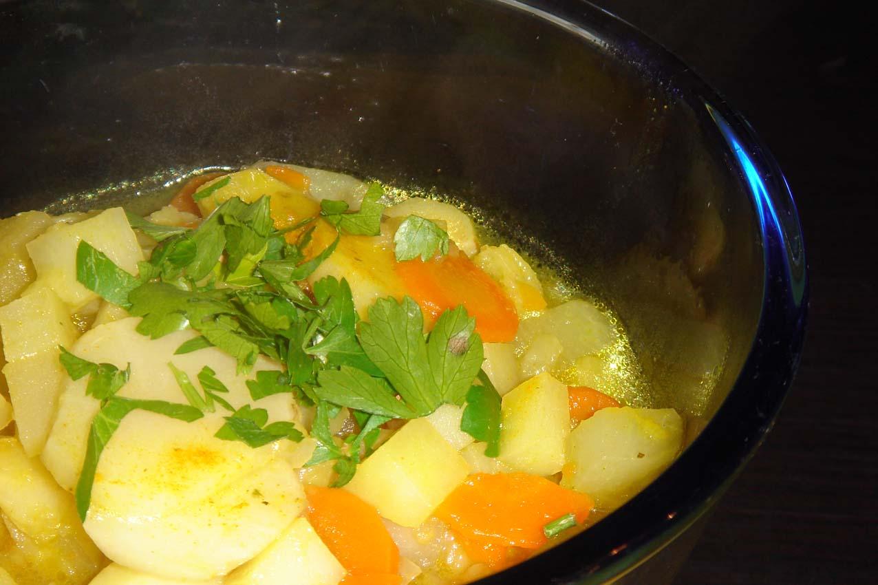 Wurzelgemüse-Suppe