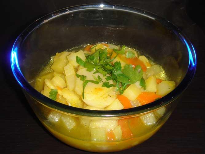 wurzel ingwer suppe